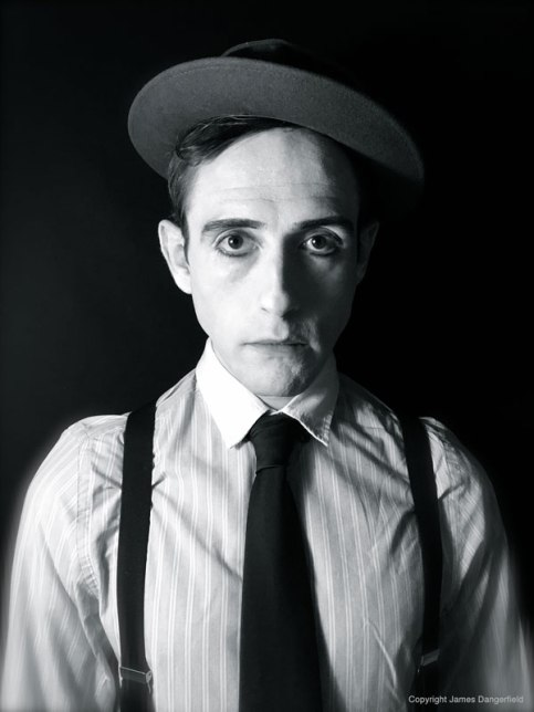 James Dangerfield as Buster Keaton 2017